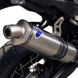 H137080TV : Termignoni titanium slip-on 2016 Honda CRF Africa Twin