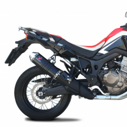 PZ6074S : IXRACE Pure Inox slip-on Honda CRF Africa Twin