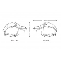 8948 : Puig handguard extensions Honda CRF Africa Twin