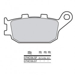 38800289 : Brembo rear brake pads Honda CRF Africa Twin