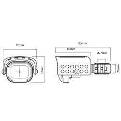 731106 : Hepco-Becker additional lights Honda CRF Africa Twin