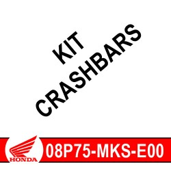 08P75-MKS-E00 : Honda crashbar mounting kit 2020 Honda CRF Africa Twin