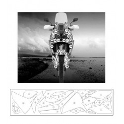 780993 : R&G Second skin protection kit Honda CRF Africa Twin
