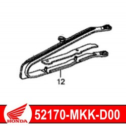 52170-MKK-D00 : Honda genuine chain guide 2018 Honda CRF Africa Twin