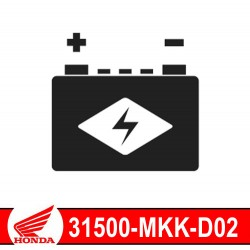 31500-MKK-D02 : Honda genuine HY110 battery Honda CRF Africa Twin