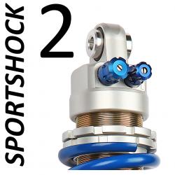 H254B : Amortisseur EMC Sportshock 2 Honda CRF Africa Twin