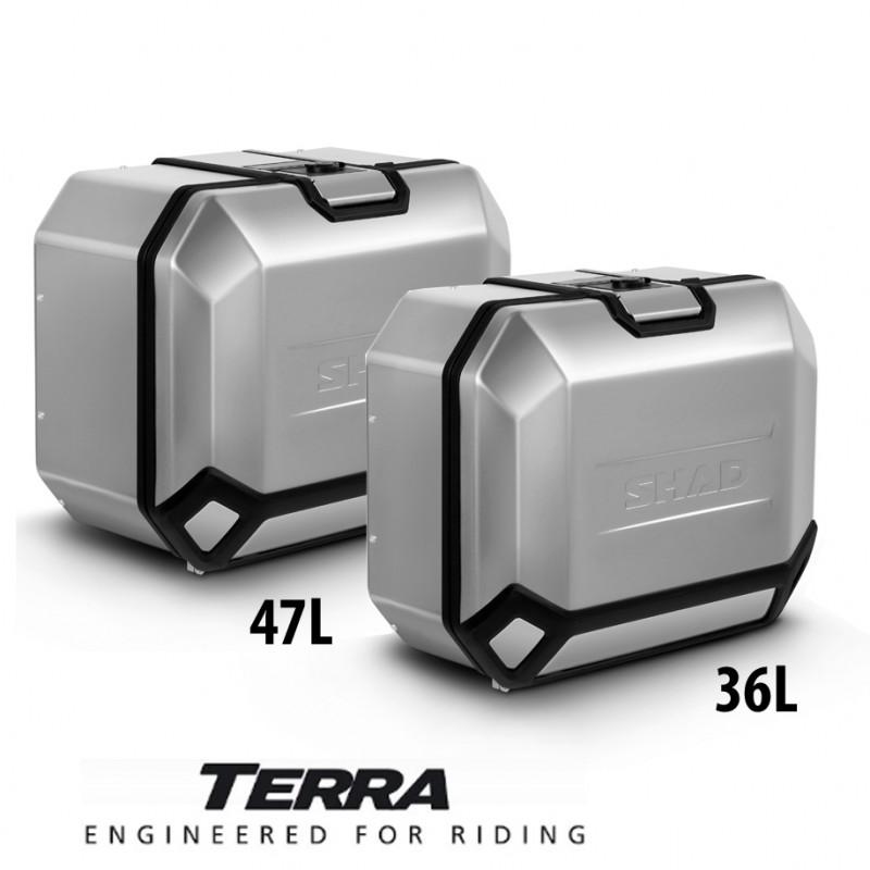 D0TR47100L + D0TR36100R : Shad Terra side cases 47/36l Honda CRF Africa Twin