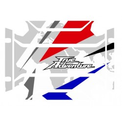 VHA-002 : Honda side cases stickers Honda CRF Africa Twin