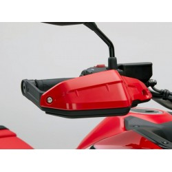 08P72-MKS-E00ZD : Honda red handguards extensions Honda CRF Africa Twin