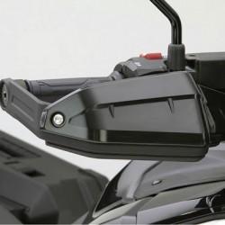 08P72-MKS-E00ZC : Honda black handguards extensions Honda CRF Africa Twin