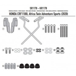 SR1178 : Givi top box rack Adventure 2020 Honda CRF Africa Twin