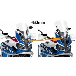 9154N : Puig windshield adjustement kit Honda CRF Africa Twin