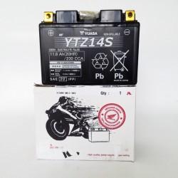 31500-MCR-305 : Yuasa Honda YTZ14S battery Honda CRF Africa Twin