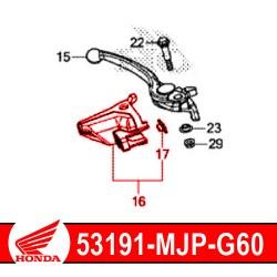 Honda OEM handguard fixing