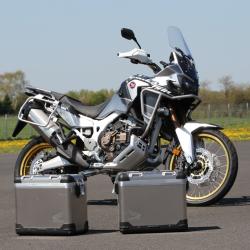 VALISESTOURAFRICA2019 : Honda Touratech Aluminium Side Cases Honda CRF Africa Twin