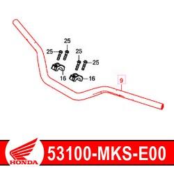 53100-MKS-E00 : Honda genuine handlebar 2020 Honda CRF Africa Twin