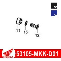 53105-MKK-D01 : Honda genuine handlebar cap 2020 Honda CRF Africa Twin