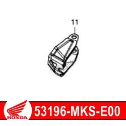 53196-MKS-E00 : Honda genuine handguard attachment 2020 Honda CRF Africa Twin