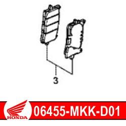 06455-MKK-D01 : Honda genuine front brake pads 2020 Honda CRF Africa Twin