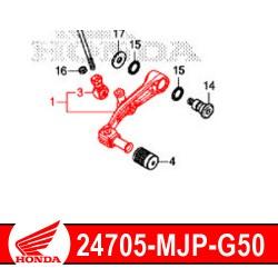 24705-MJP-G50 : Honda genuine clutch pedal 2020 Honda CRF Africa Twin