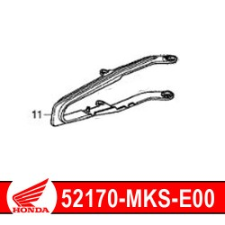 52170-MKS-E00 : Honda genuine chain guide 2020 Honda CRF Africa Twin