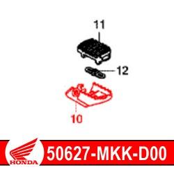50617-MKK-D00 : Honda genuine driver footrest 2020 Honda CRF Africa Twin