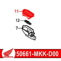 50661-MKK-D00 : Honda genuine footrest rubber 2020 Honda CRF Africa Twin