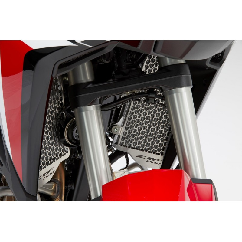 08F71-MKS-E00 : Honda radiator guard 2020 Honda CRF Africa Twin