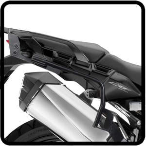 Side cases racks for Africa Twin