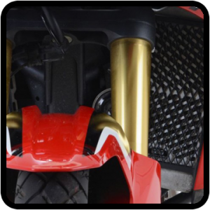 Radiator guards for Honda CRF 1000 Adventure Sports